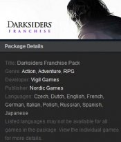 Darksiders Franchise Pack Steam