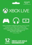 Xbox Live Gold 12 Months worldwide