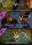 Civilization V: Denmark and Explorer's Combo Pack Steam