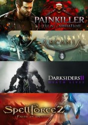 4-Games PACK Steam (Painkiller: Hell & Damnation)