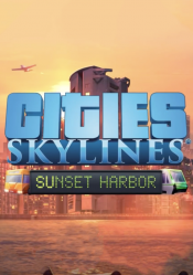 Cities: Skylines - Sunset Harbor DLC key- Steam