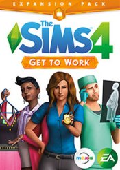 The Sims 4 Get to Work Origin (EA) CD Key