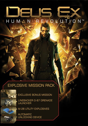Deus Ex: Human Revolution Explosive Pack DLC Steam|Action