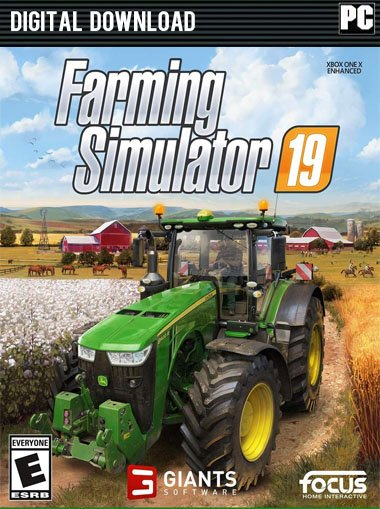 Farming Simulator 19 [Cloud Activation] key- Steam|Top Selling Games