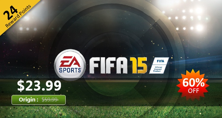 FIFA 15 Standard Edition CD Key (Origin)