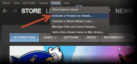 how to get steam activation code
