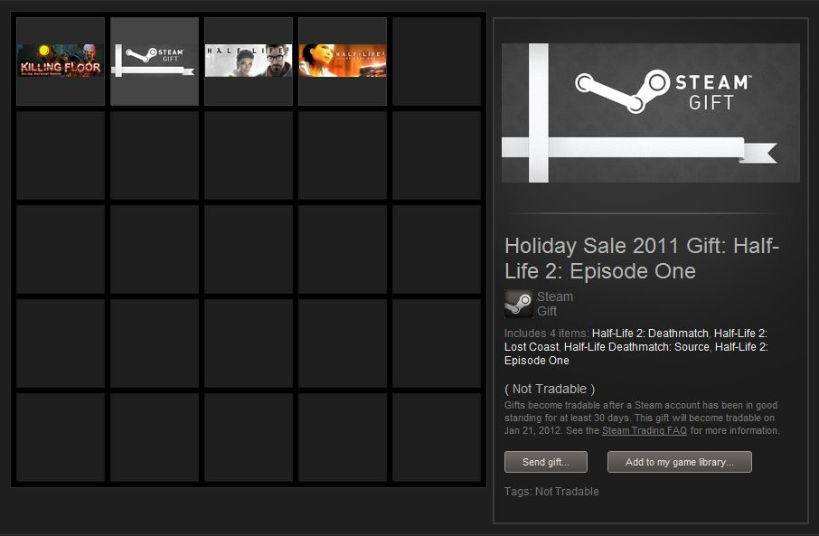 how do i gift a game on steam